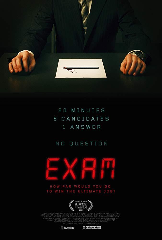 ดูหนังออนไลน์ Exam (2009) เกมส์ฆาตกรโหด
